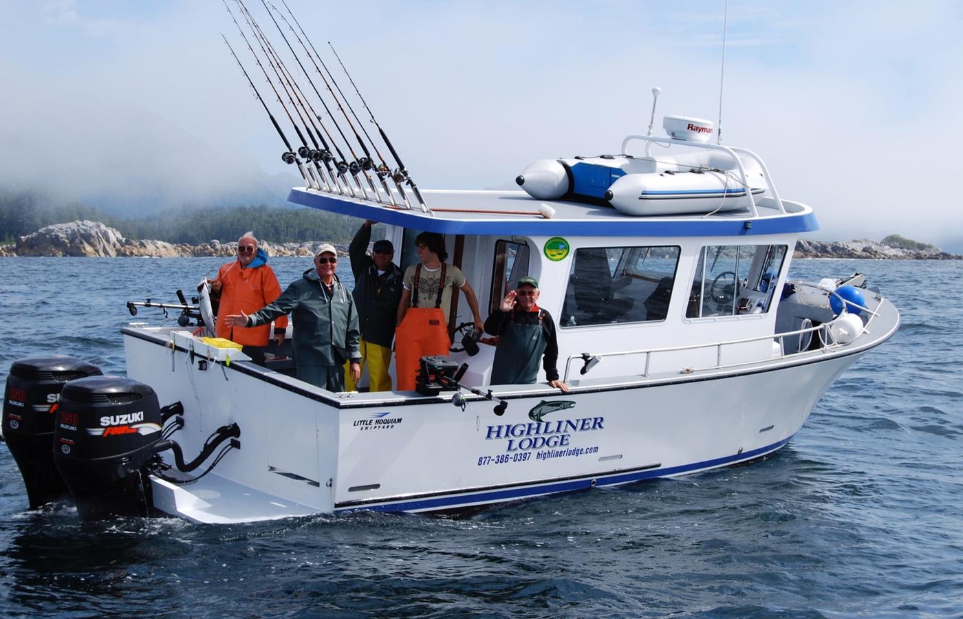 Highliner Charter Boat3
